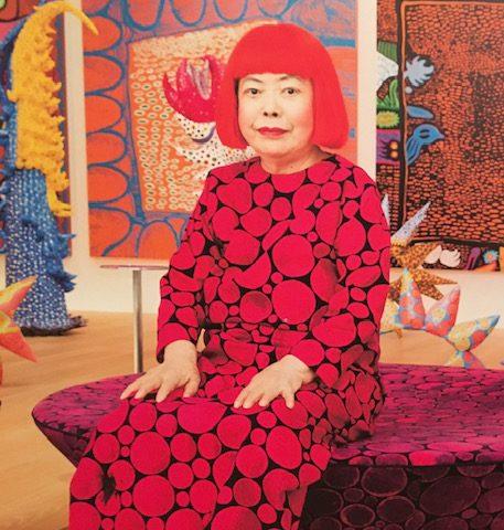 Photo of Yayoi Kusama