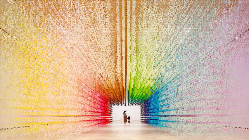 Color of Time by Emmanuelle Moureaux. Photo credit Dezeen website.