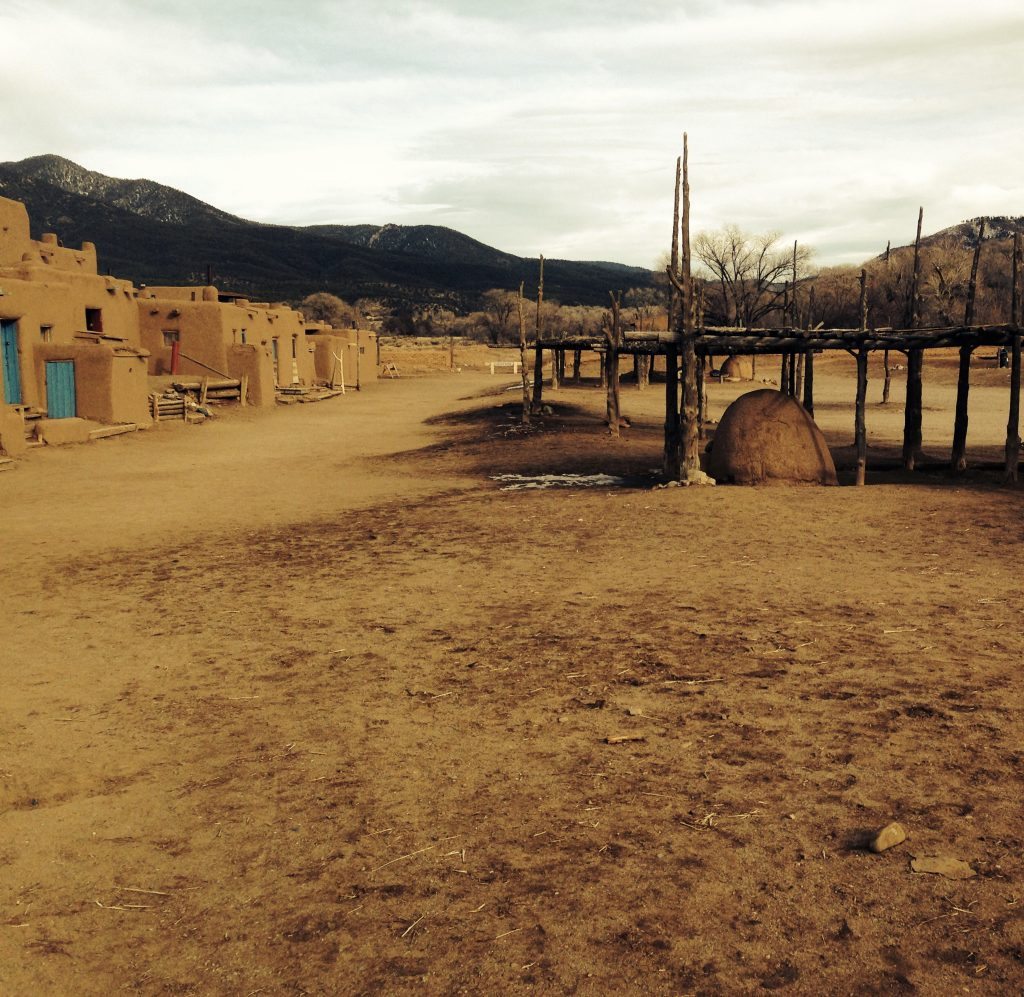 Square of Taos Pueblo
