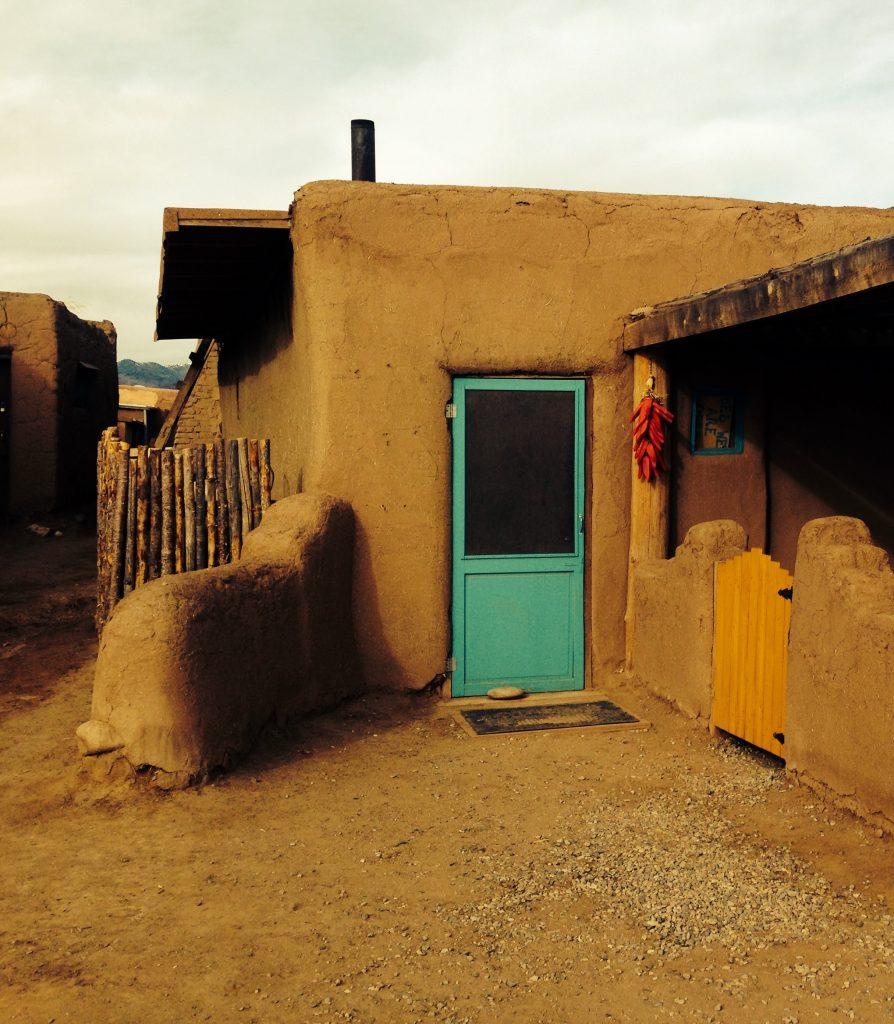Teal door - Taos Pueblo