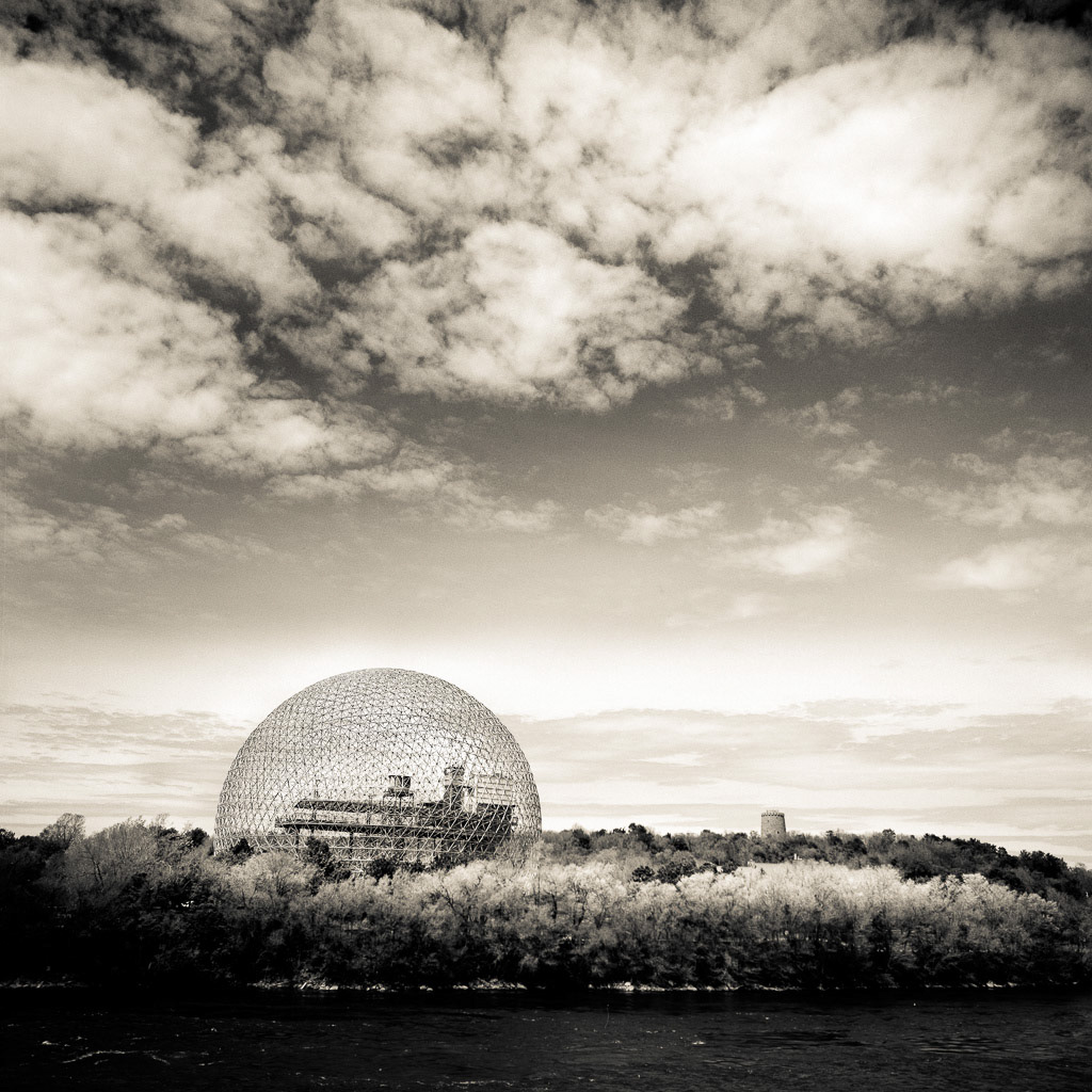 Biosphere in the natural setting. Montreal.