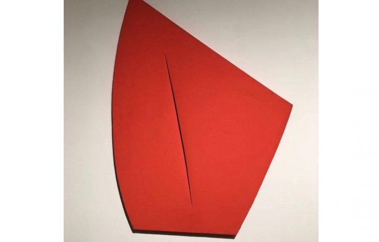 Lucio Fontana Painting