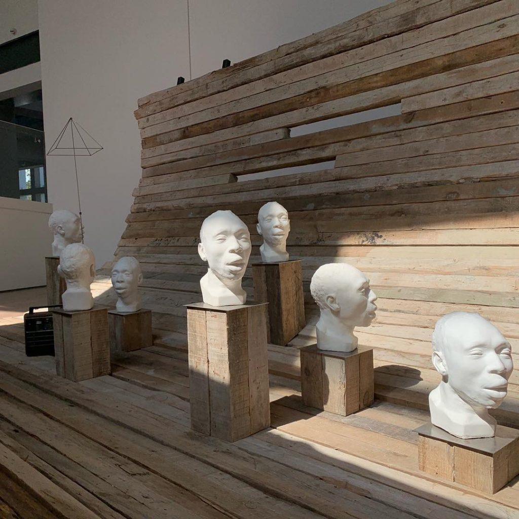 Radcliffe Bailey's installation at the Istanbul Bienal