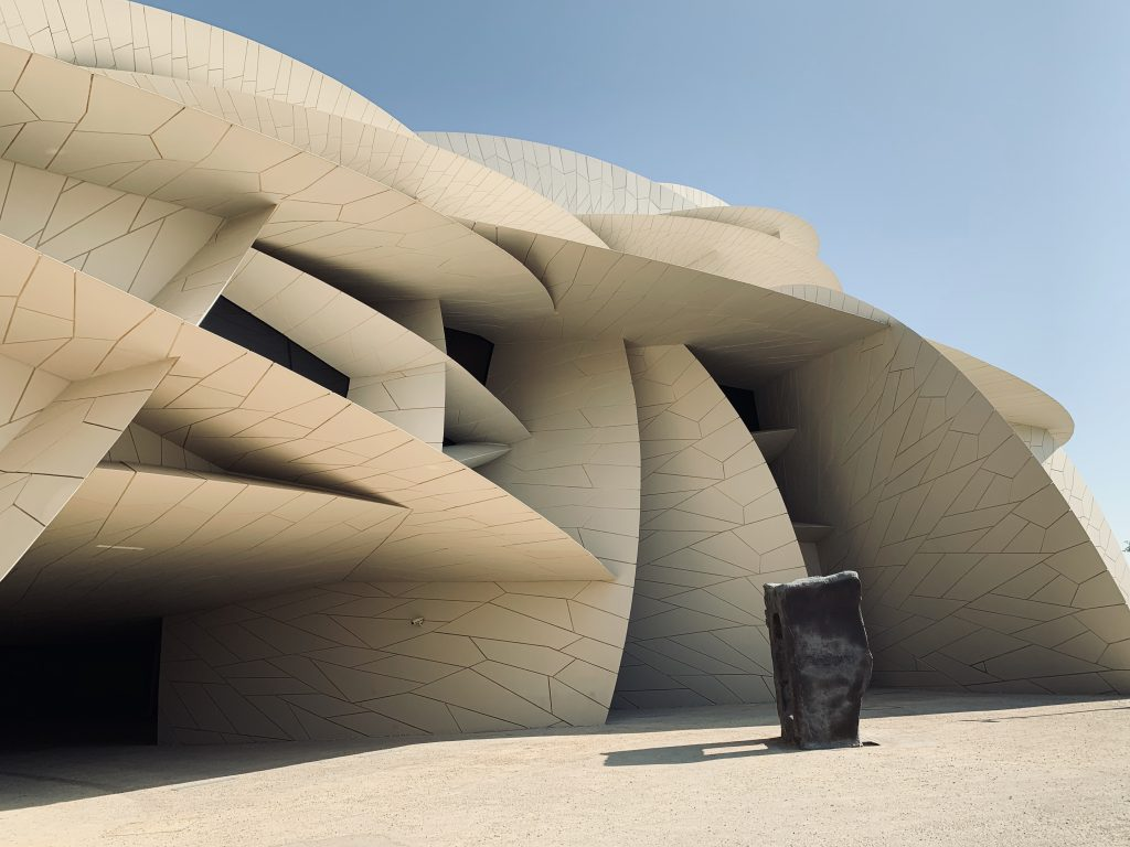 Desert Rose Architecture by Jean Nouvel