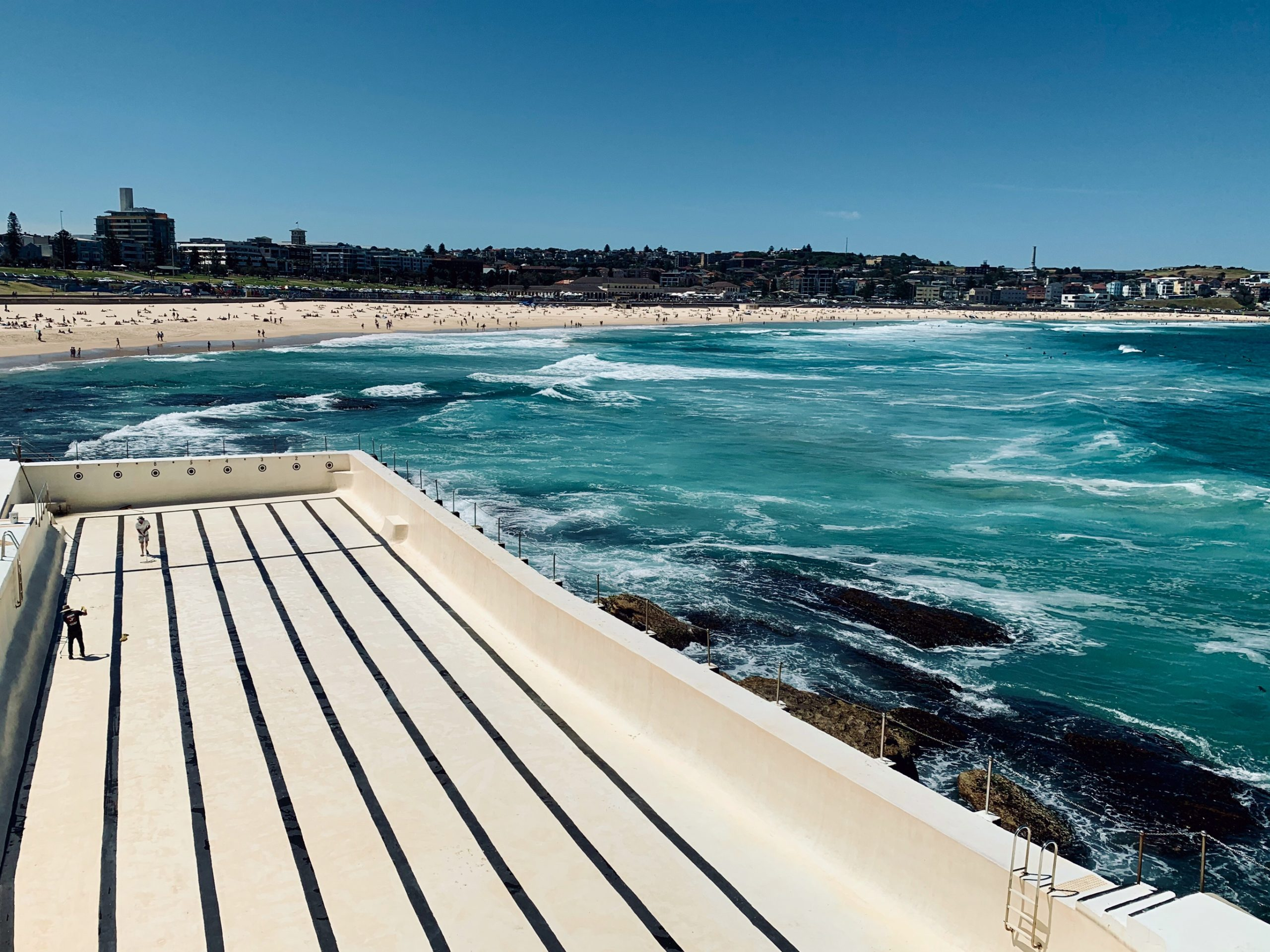 Bondi Beach and the Bondi Icebergs Pool