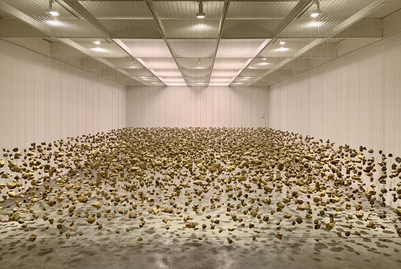 Cornelia Parker, Subconscious of a Monument Installation.