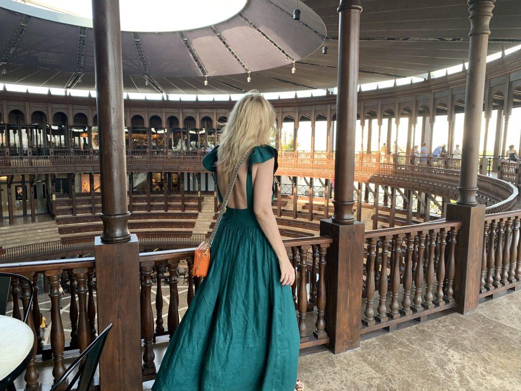 Plaza de La Serrezuela in Cartagena  Dress Kalita