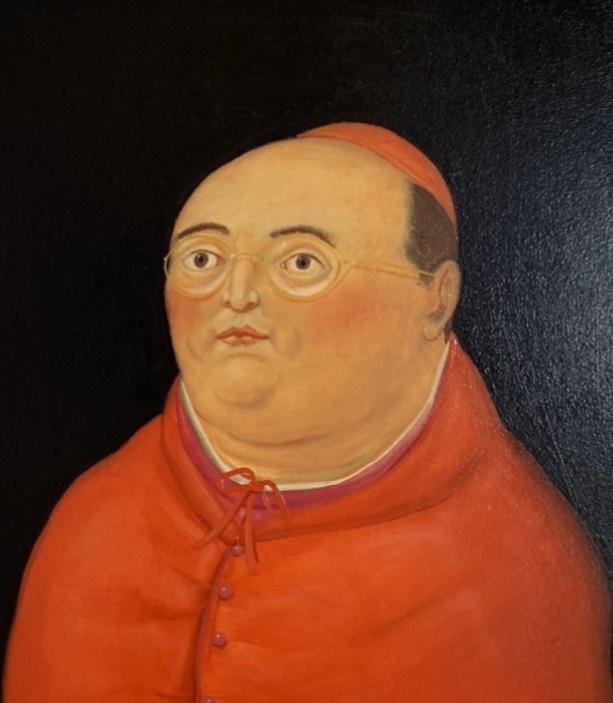 OBISPO by Fernando Botero