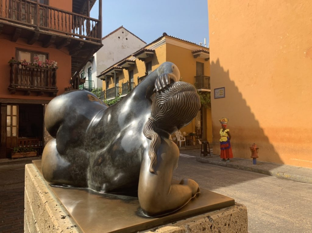 Botero - La Gordita in Colombia