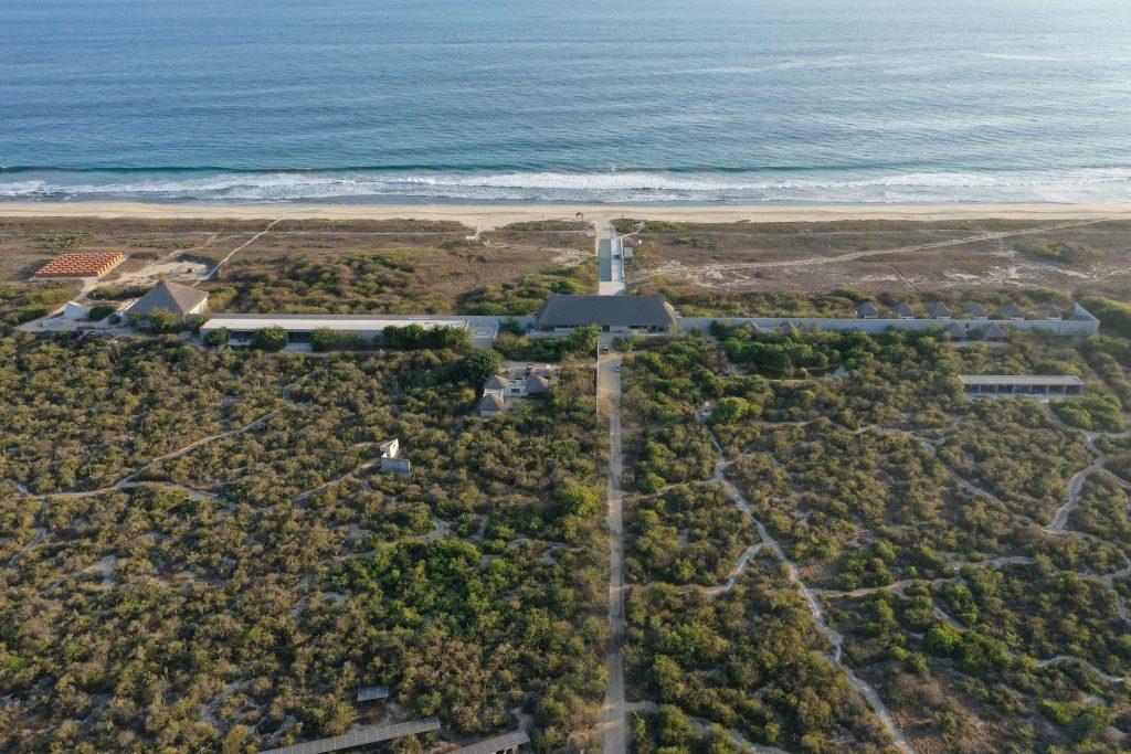 Tadao Ando - Cаsa Wabi. Marvelous ocean view