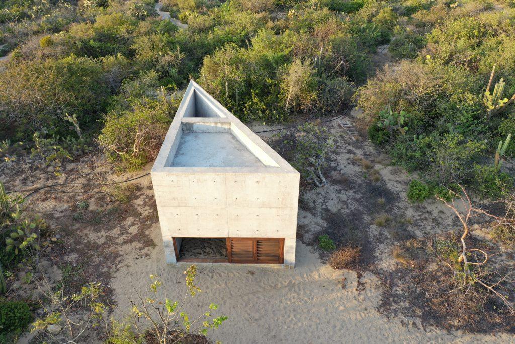 Tadao Ando Mediation Room Casa Wabi
