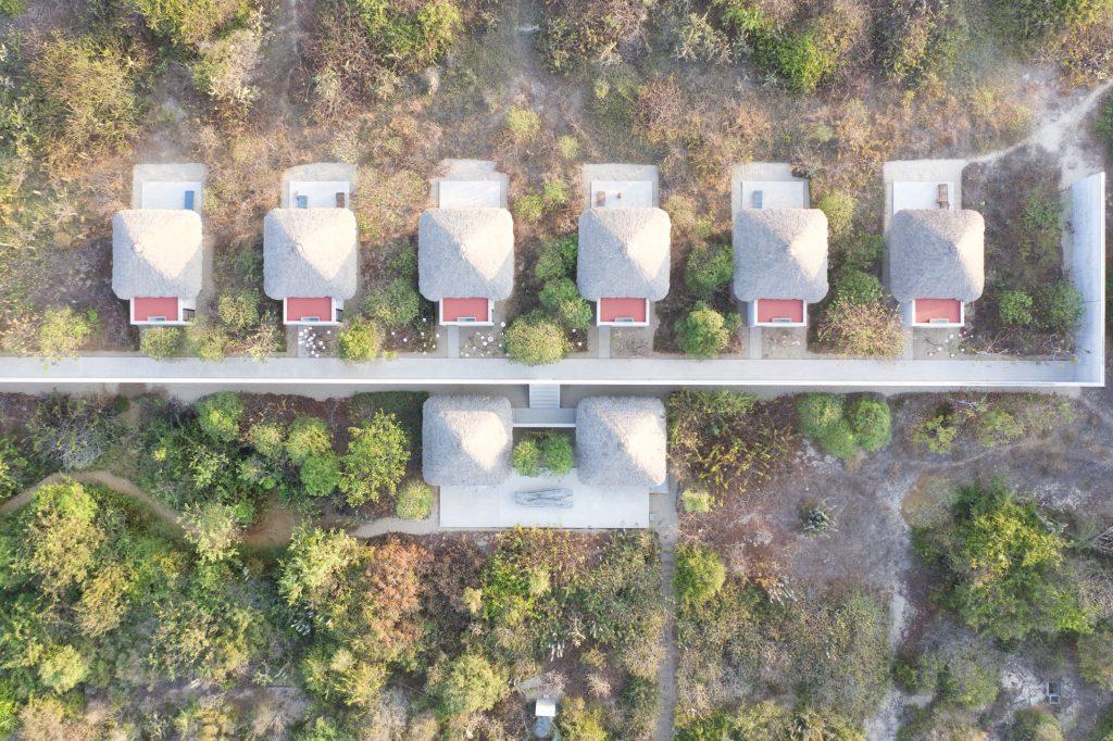 Tadao Ando Casa Wabi Areal of Houses