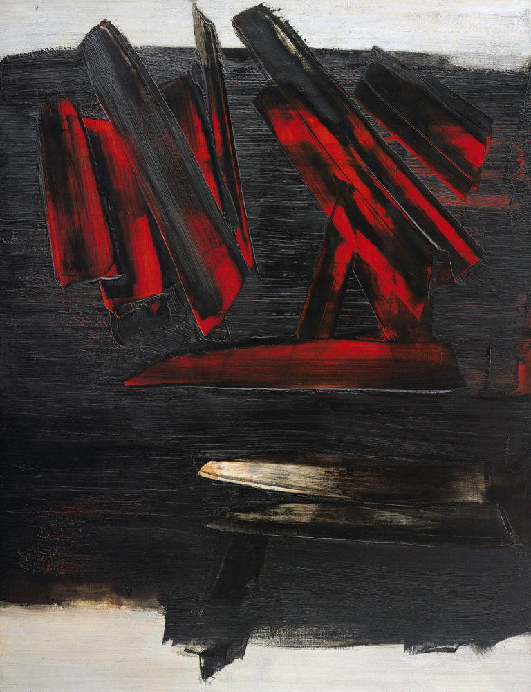 Peinture 23 decembre 1959 - Pierre Soulages
