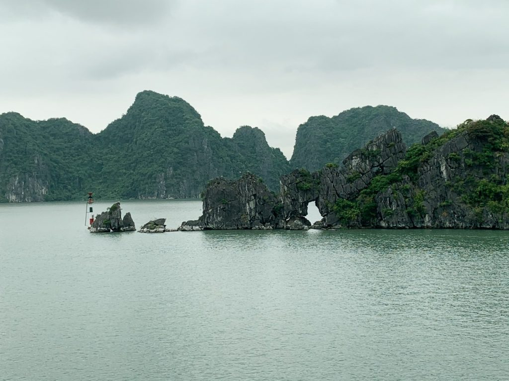 Halong Bay mountain formations