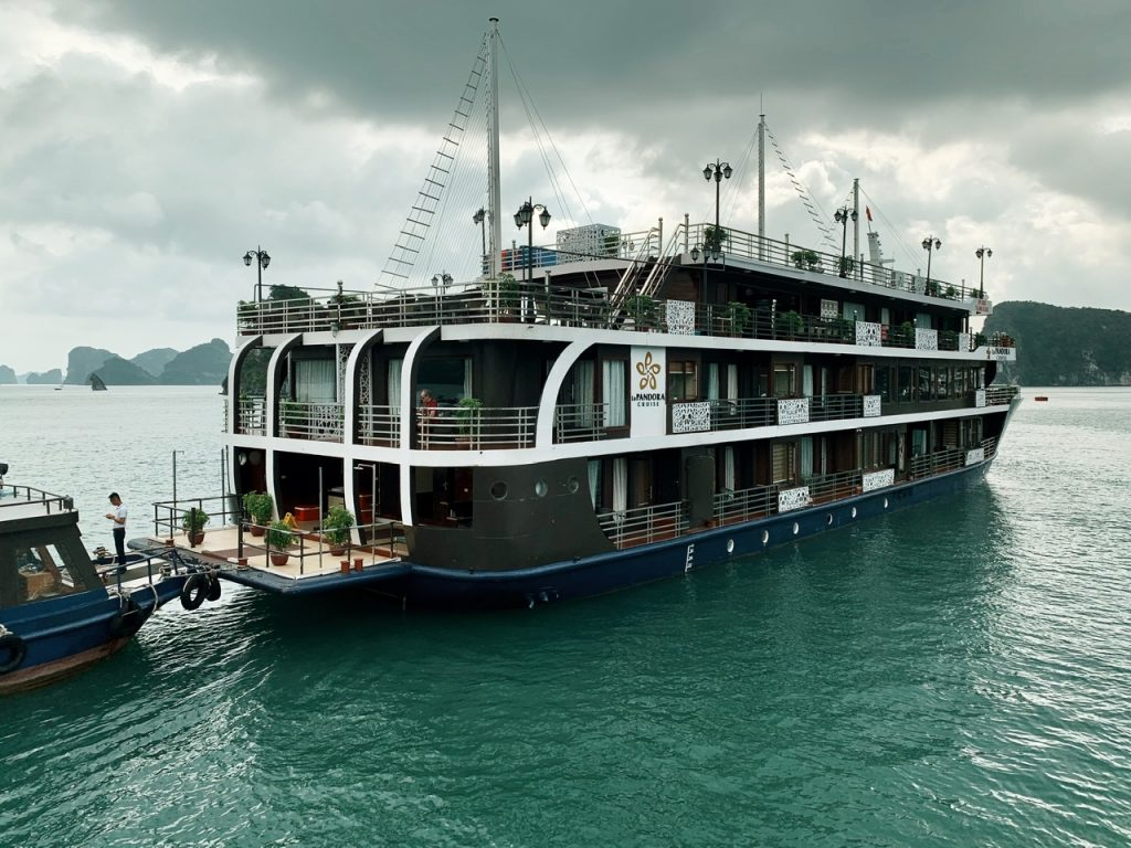 Pandora Cruise boat Halong Bay