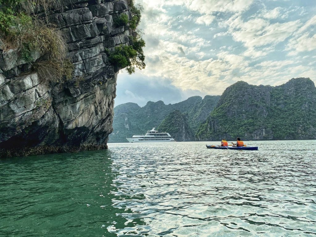 Kayaking - Halong Bay