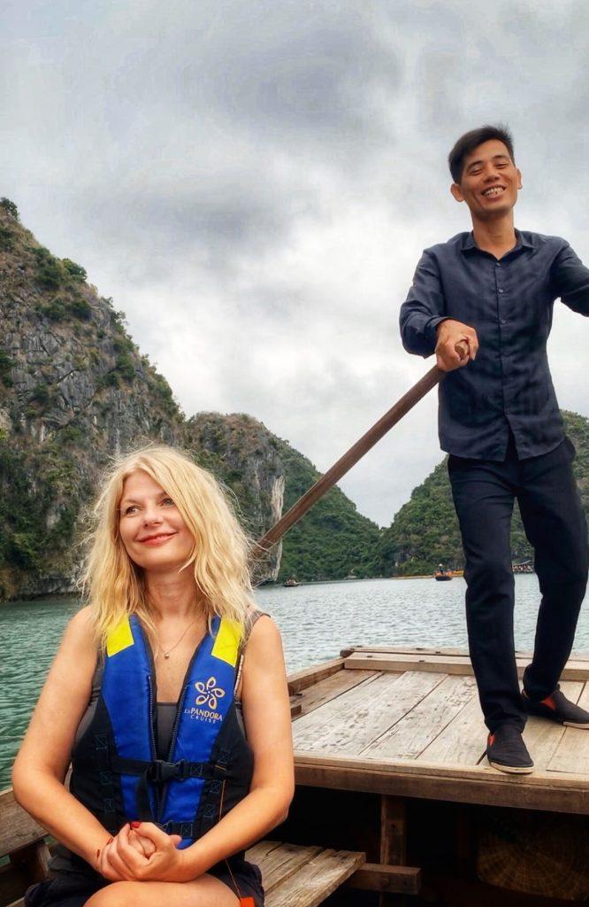 Halong Bay Cave Visit