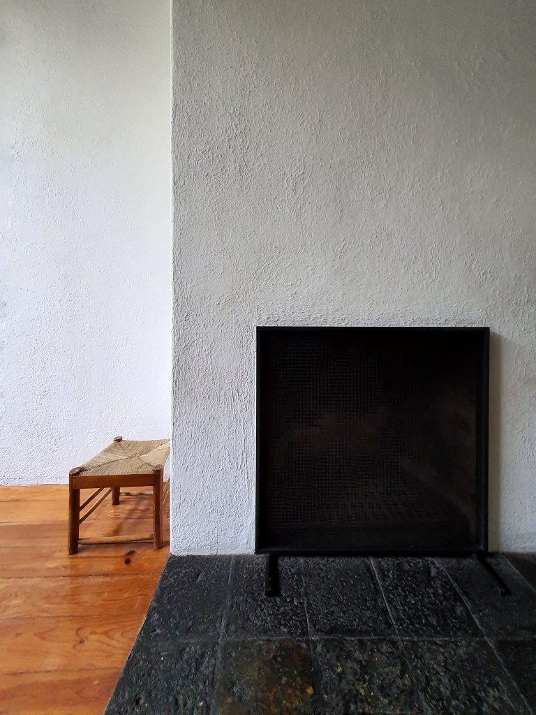 Interior details of Barragán's casa.