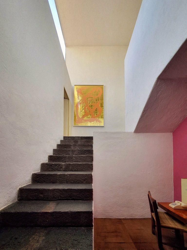 Line, color, and detail of Barragán's architecture and design.