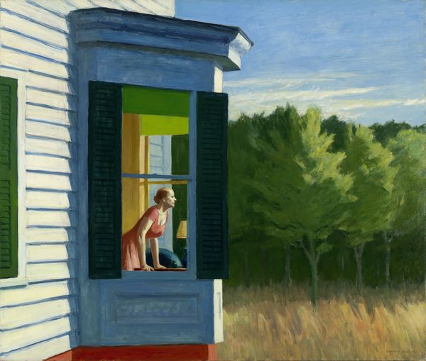 Cape Cod Morning, painting by Edward Hopper