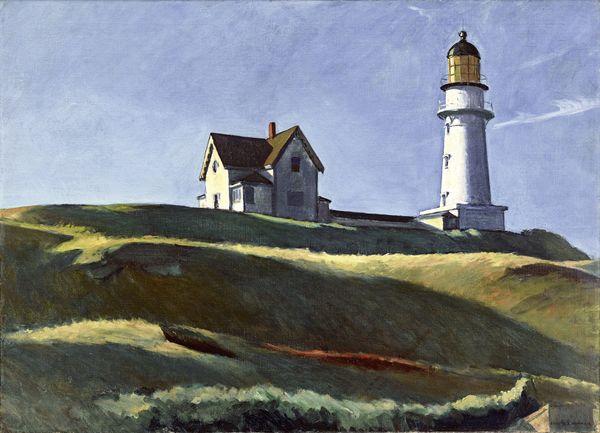 Lighthouse Hill by Edward Hopper.