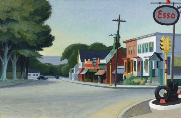 Portrait of Orleans by Edward Hopper.