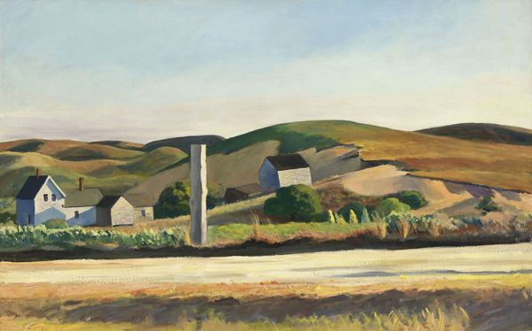 Road and houses by Edward Hopper via the Whitney Museum of American Art