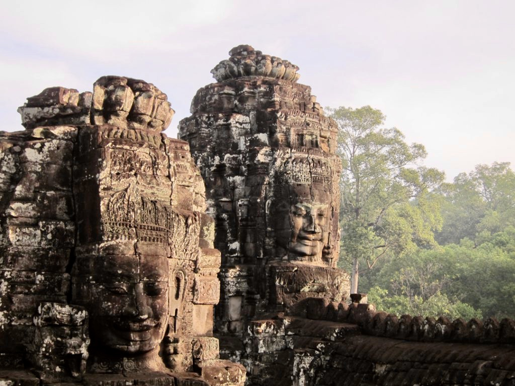 Bayon Temple - Siem Reap in Cambodia