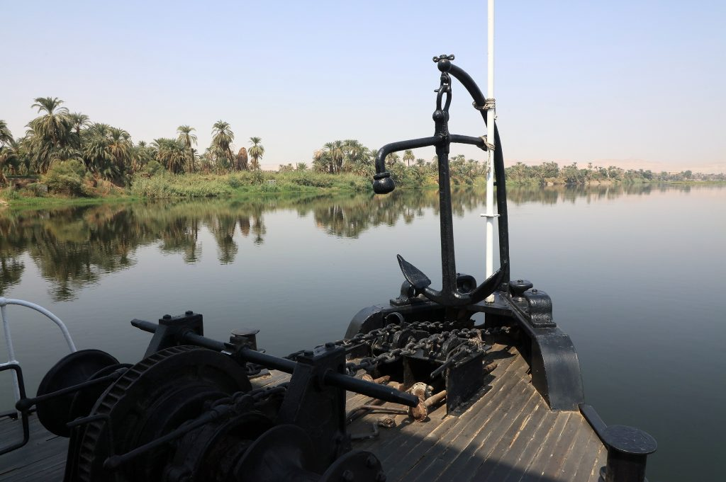 Nile river from the S.S. Sudan