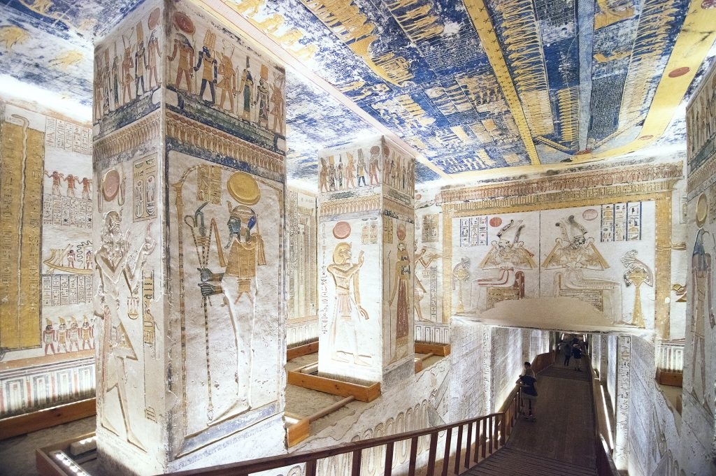 Egypt - Temple and tomb of Rasses VI
