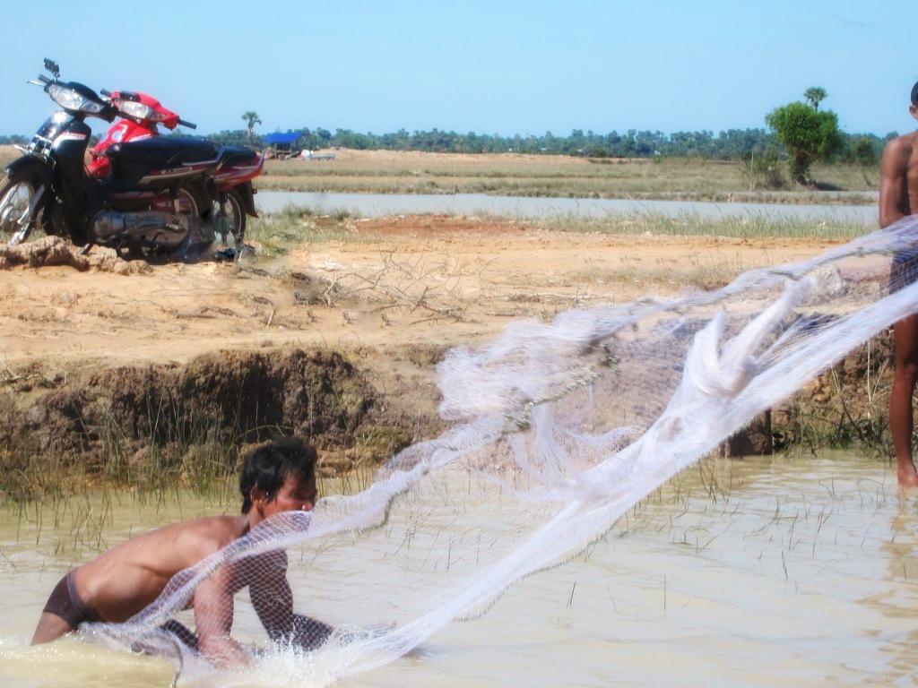 Fisherman Cambodia
