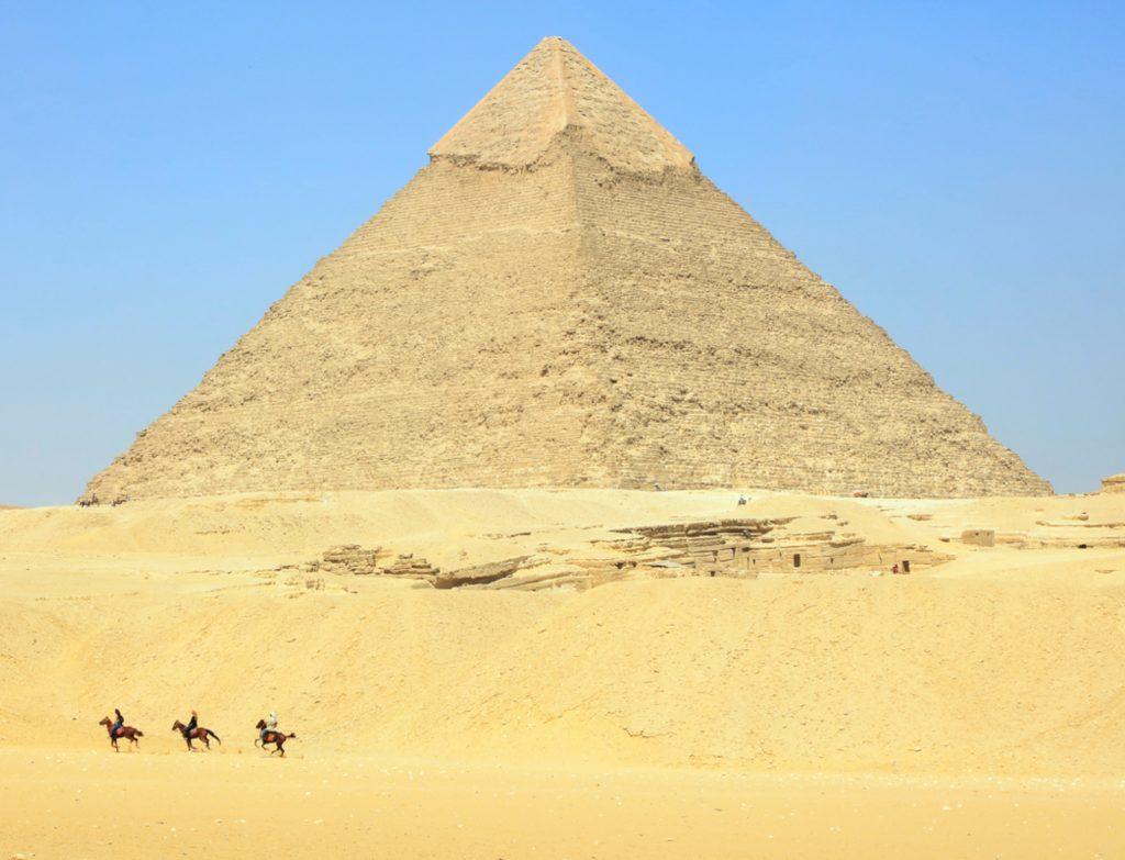 Egypt Pyramids - Horseback Riding