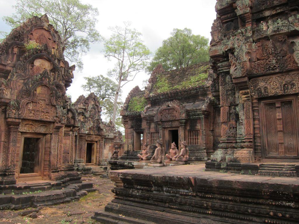 Banteay Srei Temple in Cambodia.