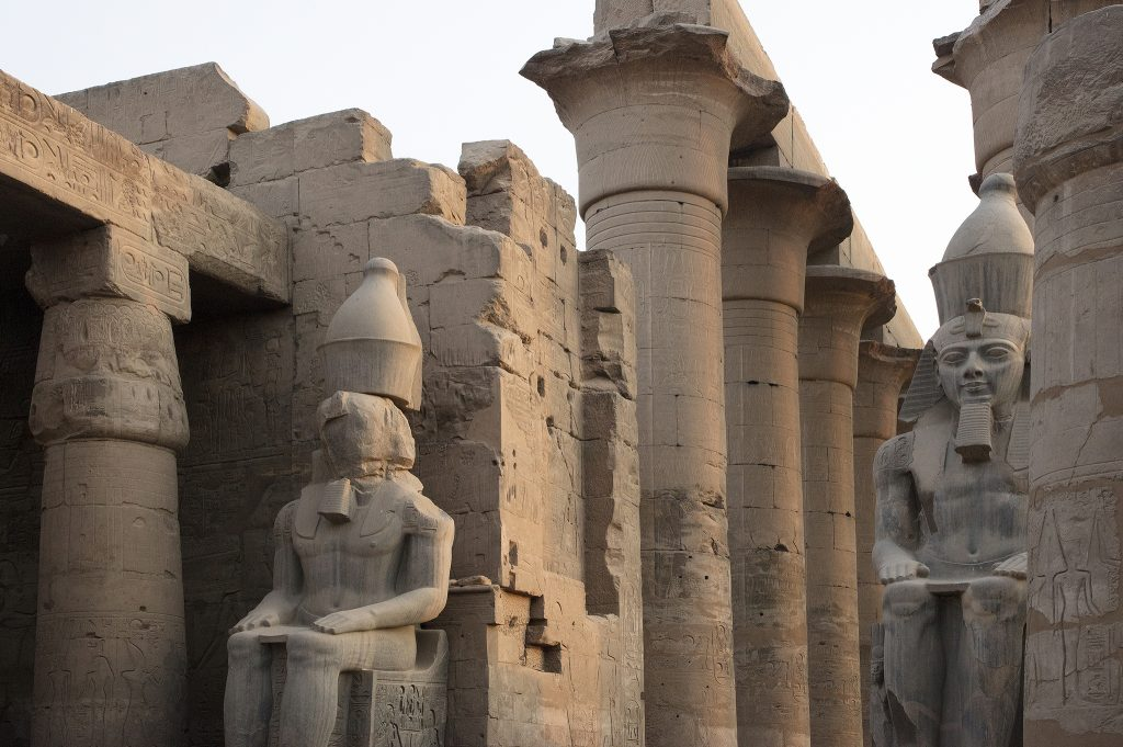 Egypt Temple of Luxor