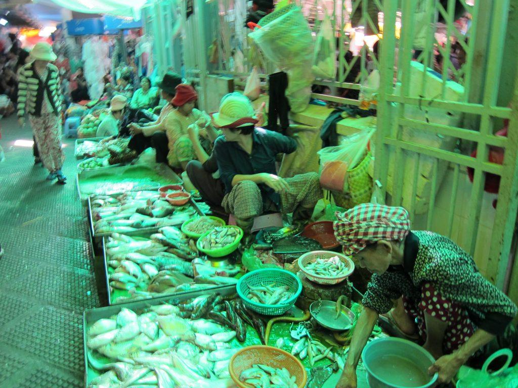 Cambodia - Fish Market