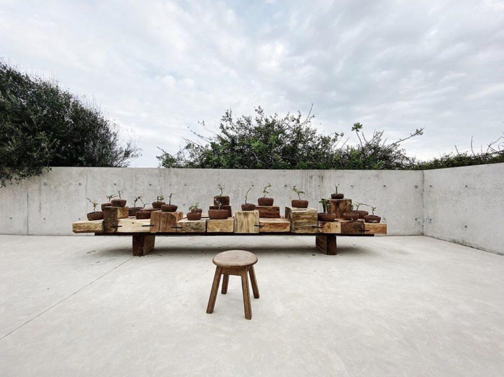 Endless mountain exhibition in Casa Wabi