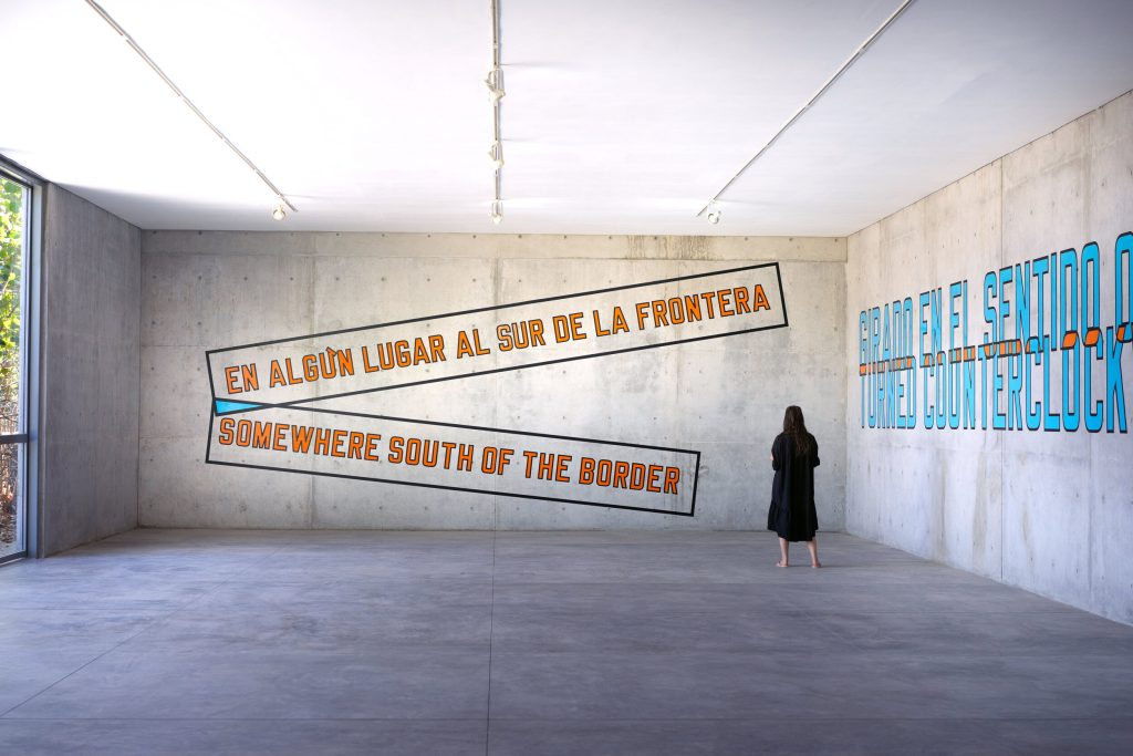 Lawrence Weiner Exhibition