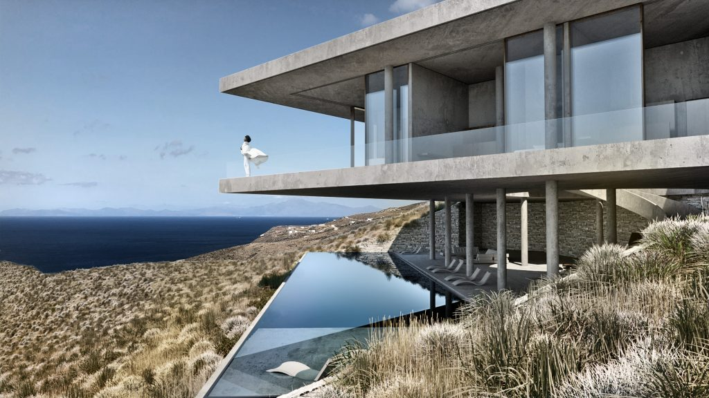 The Manta Villa. Cousin to Casa Brutale.