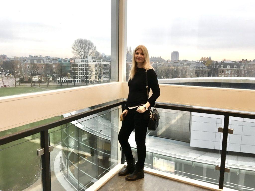 Tijana at Museum.