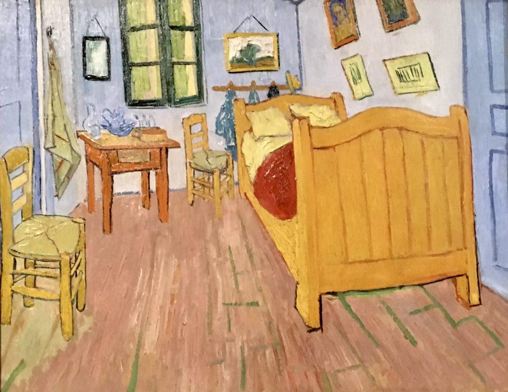 The Bedroom in Arles Van Gogh