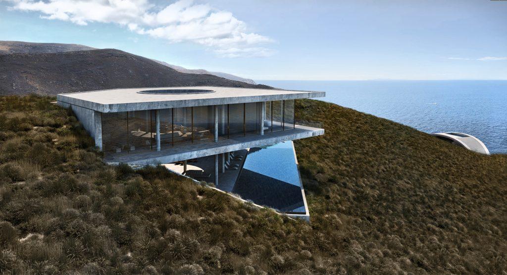 The Manta Villa by LAAV Architects