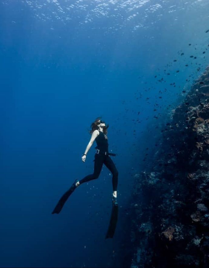 Freediving photo by Pepe Arcos.