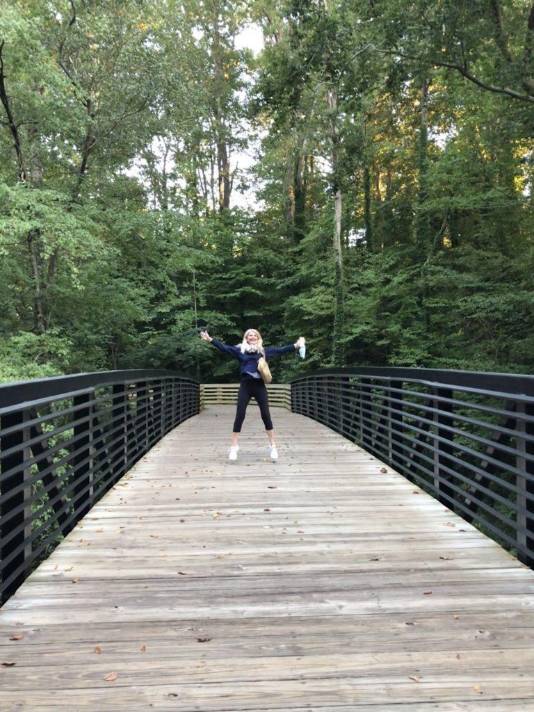 Walks at Medlock Park in Georgia