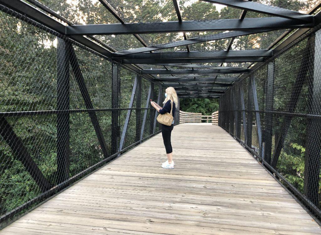 Medlock park in Decatur Georgia