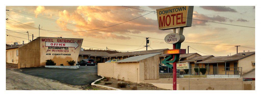 Barstow,  California by Horst Hamann, copyright.