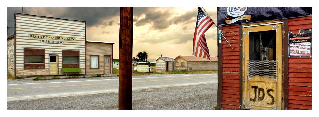 Pendroy, Montana by Horst Hamann, copyright.
