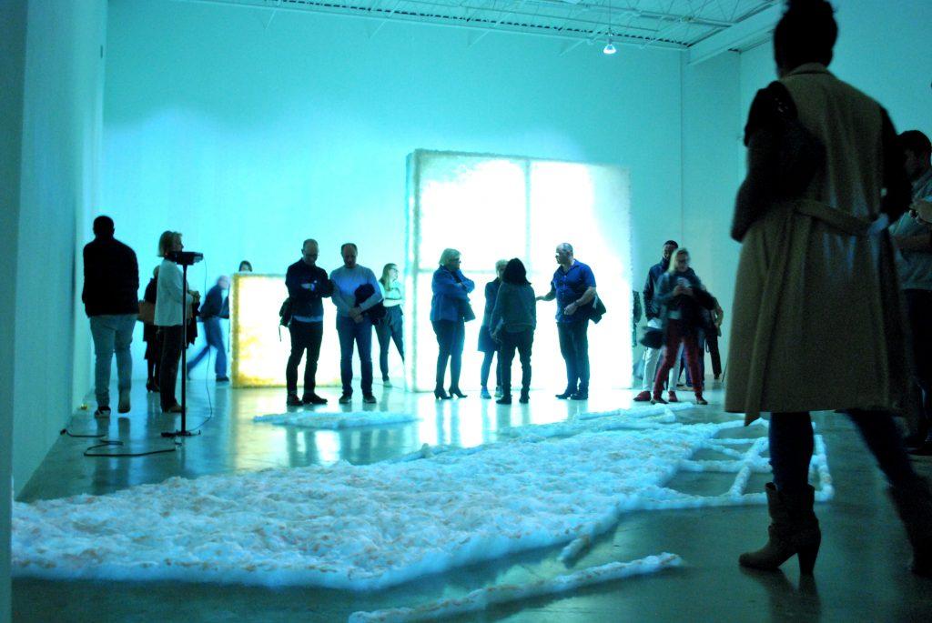 Exhibition at MOCA, in Georgia, USA