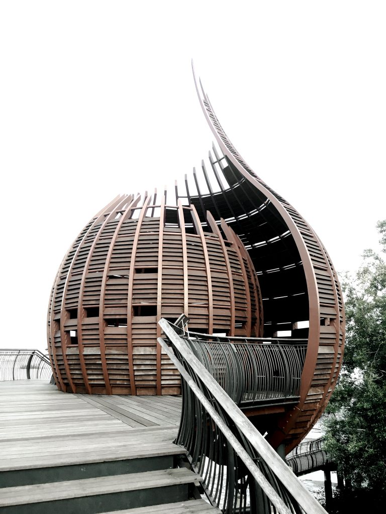 Kranji Marshes nature reserve in Singapore