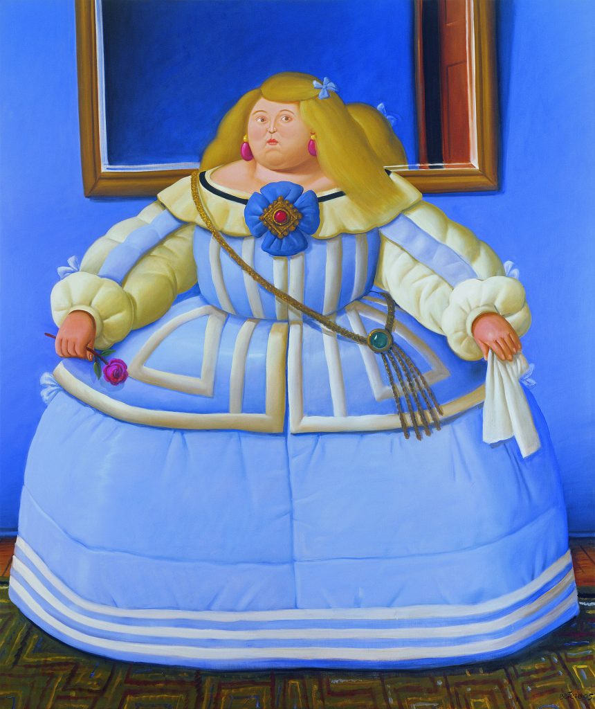 Botero. After Velazquez.