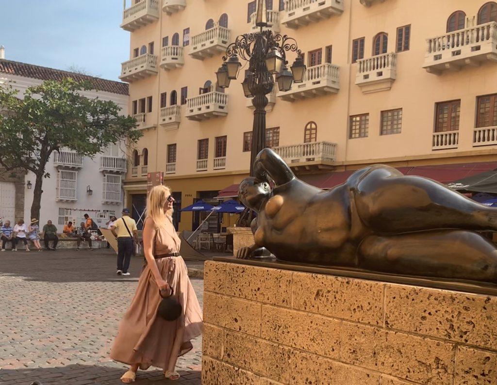 Botero La Gorda Gertrudis in Cartagena